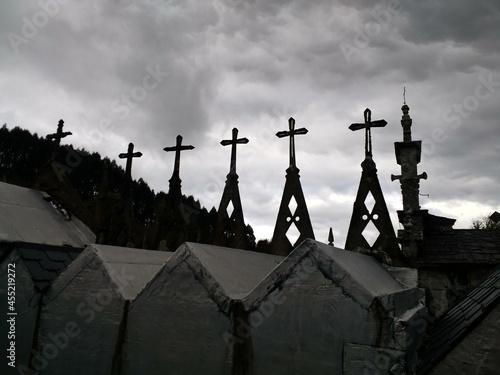 Canvas Print Cruces en el cielo