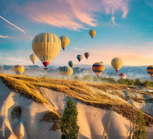 Fotografiet Hot air balloons