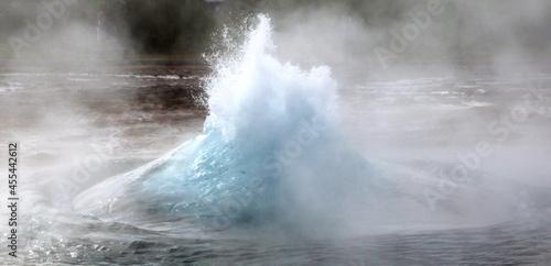 Canvas Eruption of Strokkur Geyser, Iceland