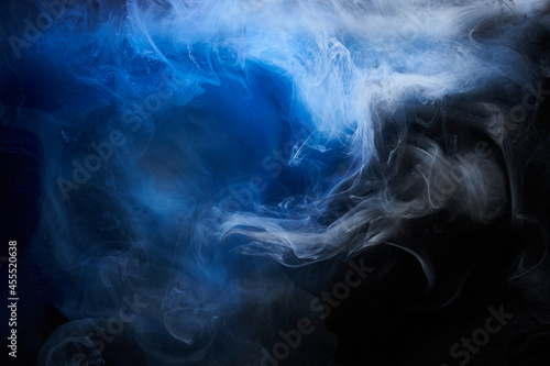 Fototapeta Abstract blue ocean background