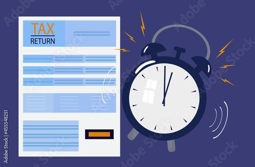 Fotografía Tax return time