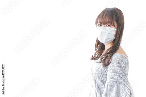 Fotografie, Obraz 風邪をひいた女性