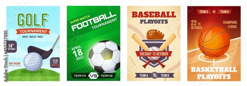 Tela Sports game tournament poster, basketball playoff announcement flyer