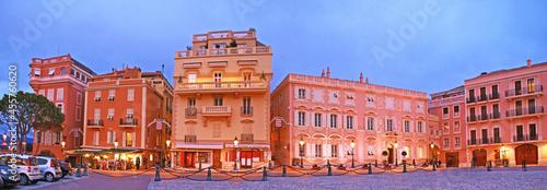 Fotografia Panorama of Palace Square, Monaco