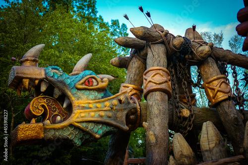 Foto Family Ethnic Amusement Park Kudykina Gora