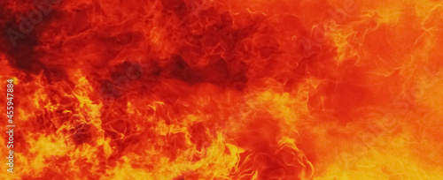 Fotografia Background of fire. Symbol of hell and eternal torment