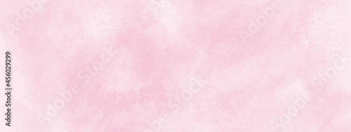 beautiful pink watercolor background with white smoke.Abstract gradient hand painted watercolor grunge texture background.colorful watercolor with bright colorful watercolor splashes.