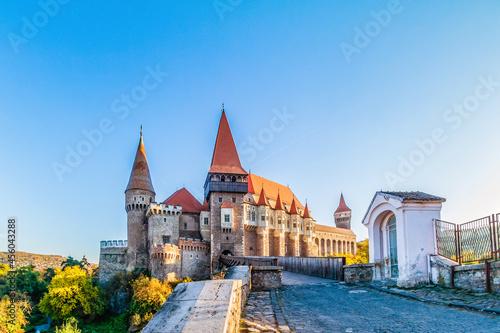Fotografia Medieval Hunyad Corvin castle in Transylvania region, Romania