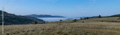 Photo Edredon de nuages sur les gorges du Tarn depuis le Causse de Sauveterre (Lozère,