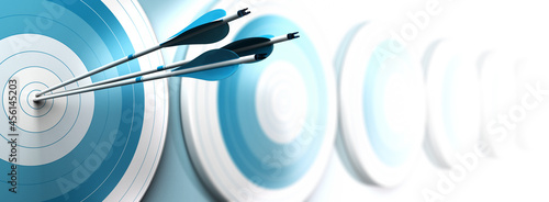 Fotografiet Competitive advantage, strategic marketing concept