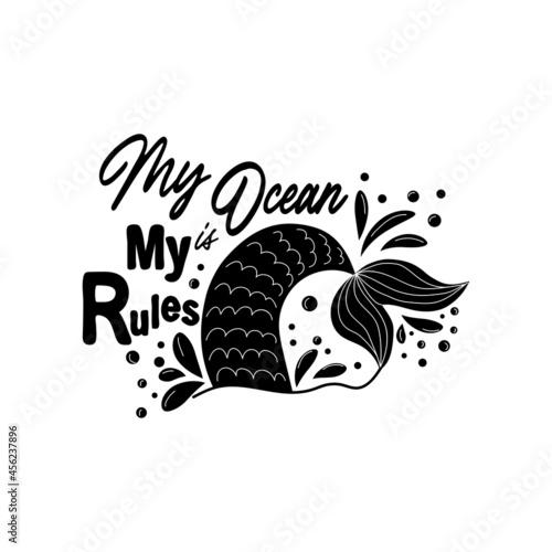 Fotografie, Obraz My sea is my rules