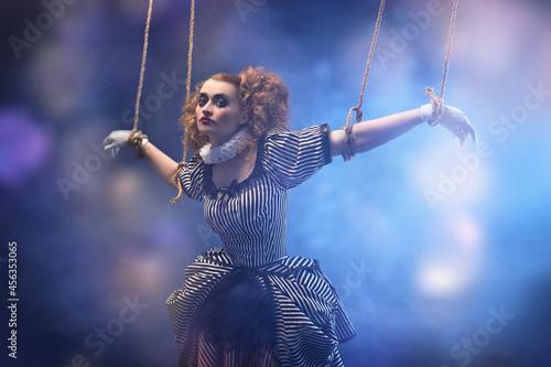 Fototapeta puppet on strings