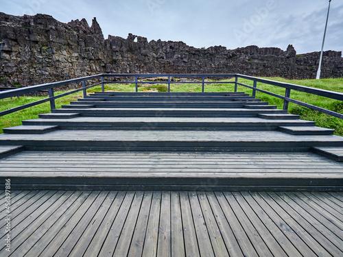 Thingvellir Islandia Fototapet