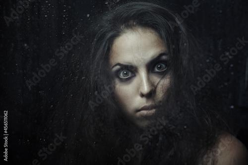 Canvastavla Witch