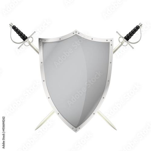 Fotografia Sword Shield Realistic Image