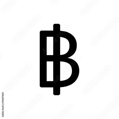 Slika na platnu Thai baht sign