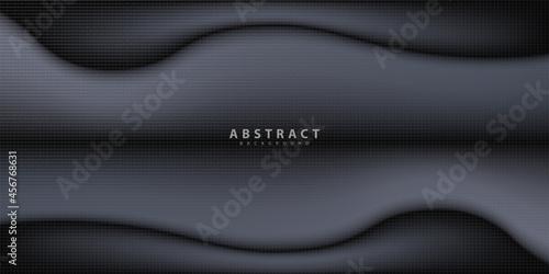 Obraz na plátně abstract black background. Background illustration