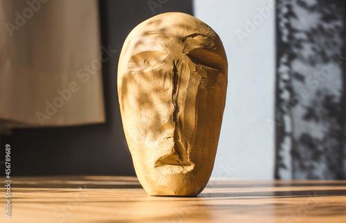 Clay handmade figurehead Fototapet