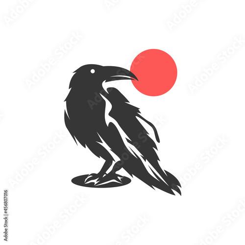 Fototapeta premium Raven logo