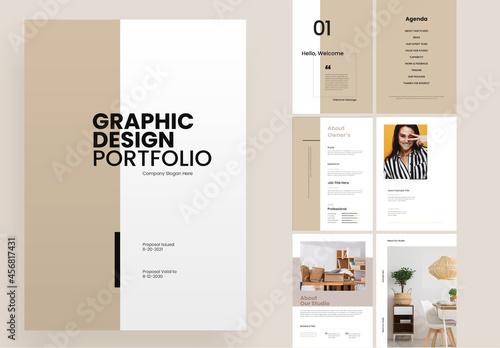 Graphic Design Portfolio Proposal Layout