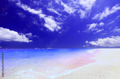 Obraz na plátně 沖縄の美しいビーチ