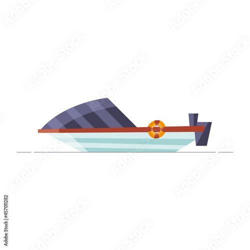 Obraz na plátně motorboat vehicle icon