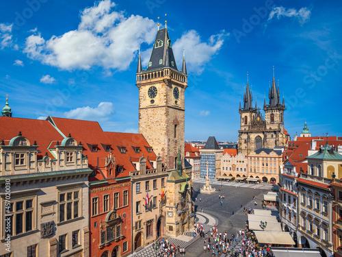 Town Hall in Prague, Czech Republic Fotobehang