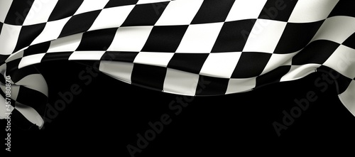 Fotografiet background of checkered flag pattern