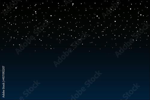 Nocne niebo Fotobehang