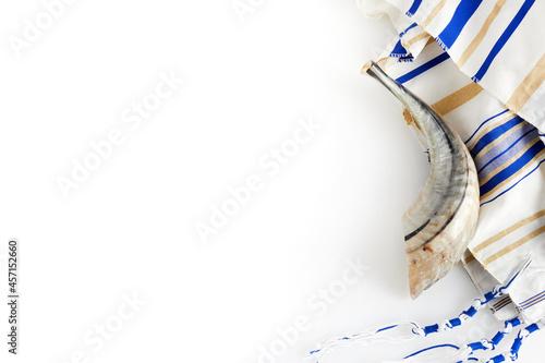 Fototapeta Yom kippur, Rosh hashanah, jewish New Year holiday, concept