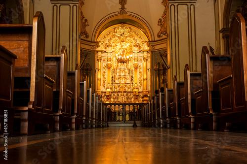 Valokuvatapetti São Paulo, Centro Histórico, Catedral da Sé, Mosteiro São Bento, Igreja do Largo