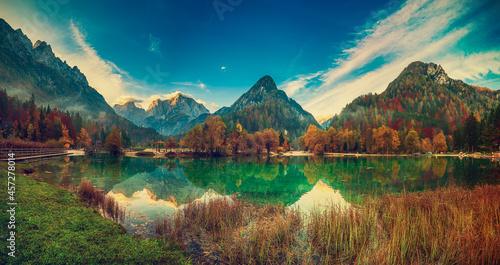 Fotografie, Obraz Jasna lake, Slovenia
