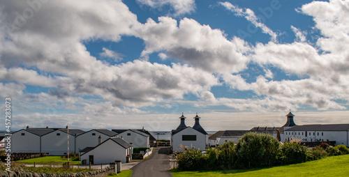 Fotografie, Obraz Whiskey distillery Islay in Scotland coast Islay produces world wide known Whisk