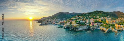 Fototapeta Sunset over the mediterranean sea