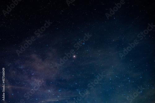 Fotografiet Milky way,galaxy,cosmos on dark sky