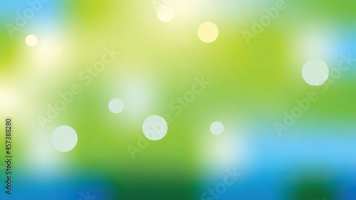 Fotografia New background, cool and beautiful light reflections in blurred bokeh pictures