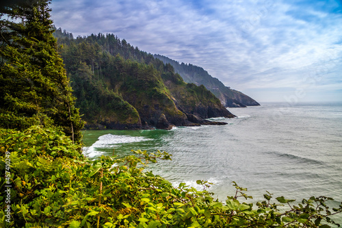 Heceta Head Lighthouse State Park Scenic Viewpoint in Florence, Oregon