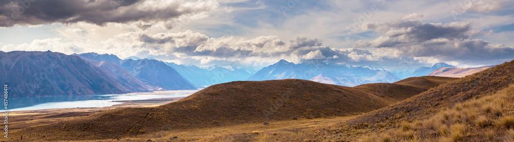 Leinwandbild Motiv - Galyna Andrushko : New Zealand mountains
