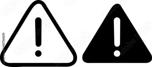 Exclamation sign. Caution, warning icon symbol illustrator.eps