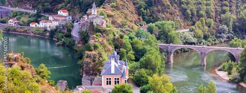 Fotografia Presqu'île d'Ambialet , gorges du Tarn, France