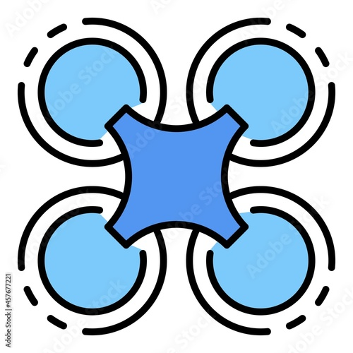 Photo Drone fly away icon