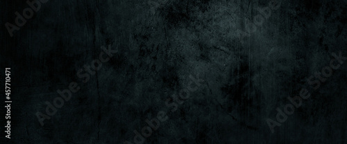 Fotografie, Obraz Dark scary wall background. Horror cement background