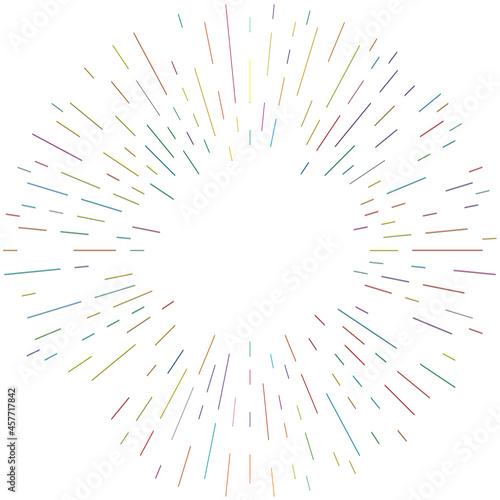 Fotografija Radial, radiating lines