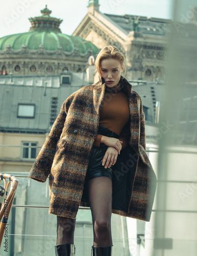 Obraz na plátně paris fashion