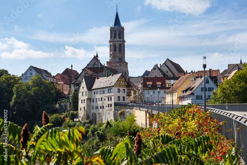 Fotografía Ausblick auf die Stadt Rottweil in Baden-Württemberg