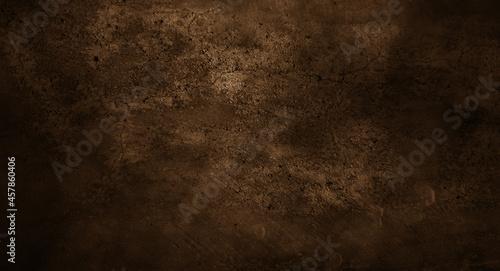 Photo Dark wall halloween background concept