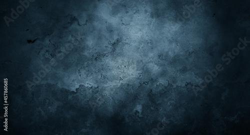 Fotografiet Dark wall halloween background concept