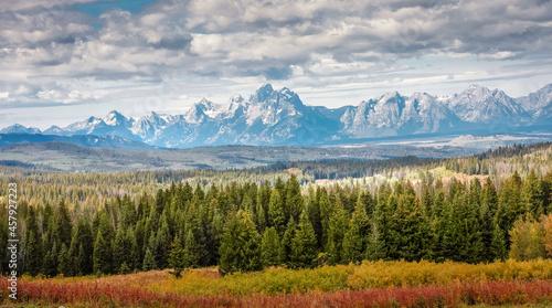 Fotografiet Grand Teton National Park Autumn