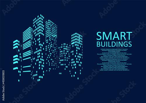 Fényképezés Smart building concept design