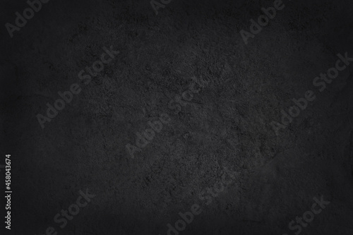 Dark grey black slate texture in natural pattern with high resolution for background and design art work Fototapet